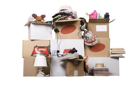 De clutter room.