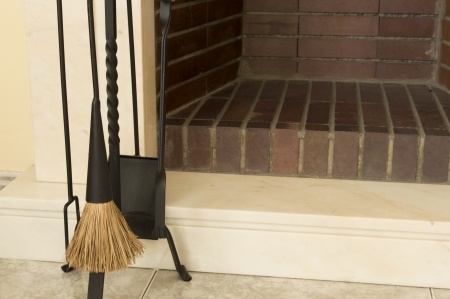 How to clean brick or grime and buildups