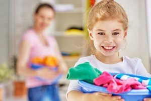 Weekly kids chores by age