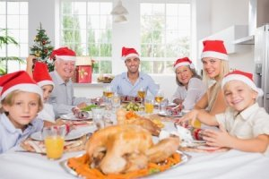 Traditions are important - they make a group of people a family and a house a home.