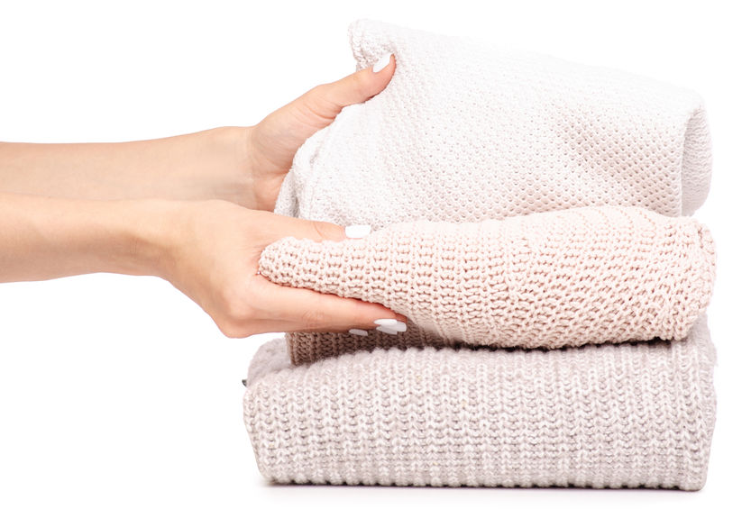 How to machine wash sweaters safely