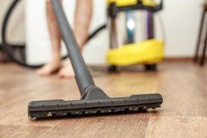 How to clean hardwood floors.
