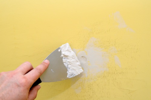 How to fix a wall hole