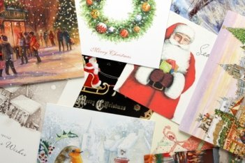 Ideas for displaying your Christmas cards.