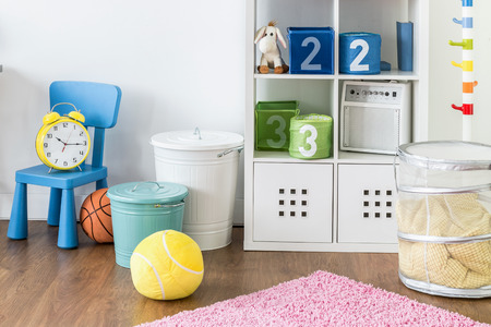 How to organize toys.