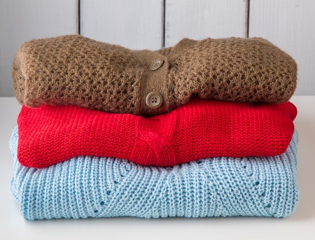 How to safely machine wash sweaters.