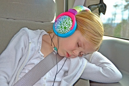 Boredom survival kits for the car for kids.