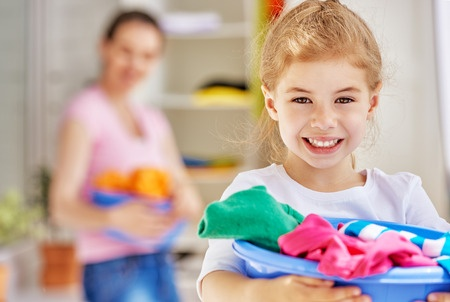 Chores for kids monthly by age.