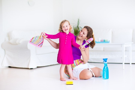 5 Fun Games For House Cleaning With Kids