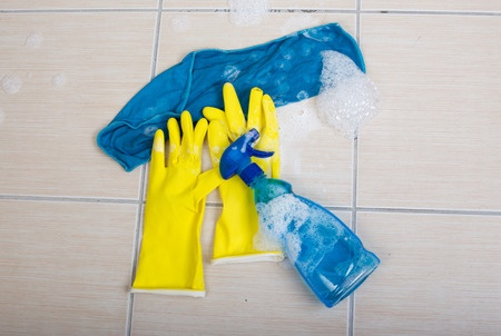 Tips for cleaning tile floors.