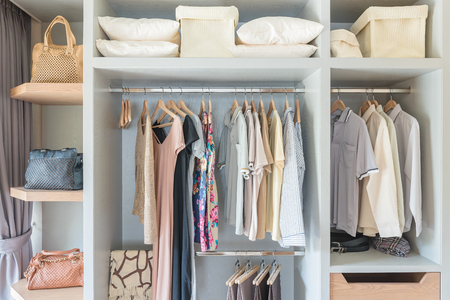 How to organize clothes.