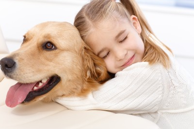 Why dogs make great pets for kids.