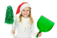 Eco friendly holiday clean up.