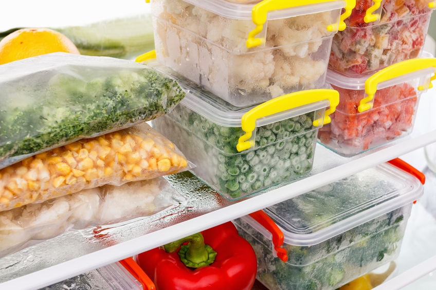 Frozen food storage tips