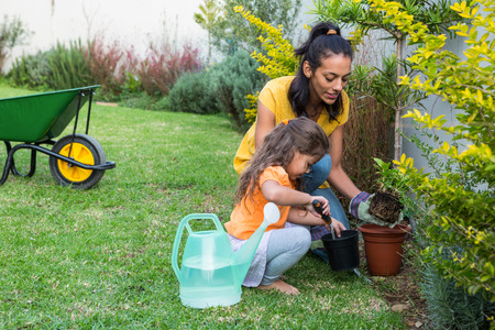 Tips for gardening with kids at home.