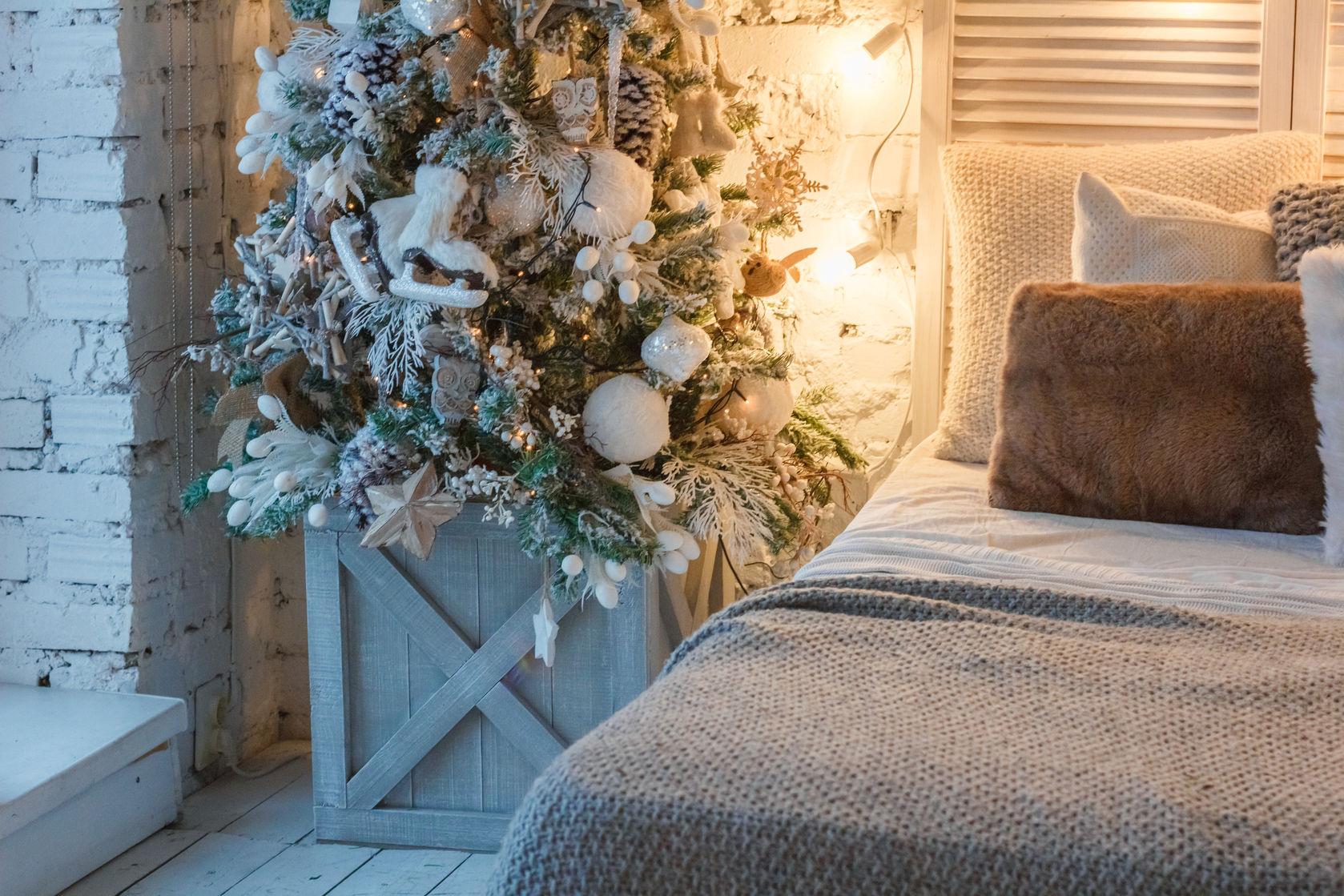 shop holiday guest bedroom decor