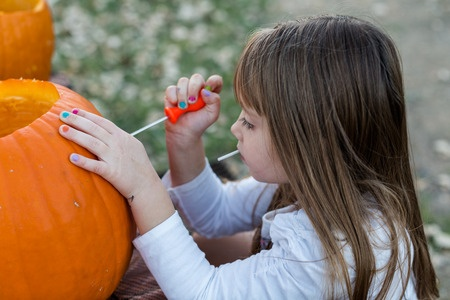 How to remove ghastly Halloween stains.