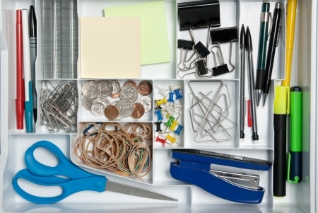 6 home organizing tips.