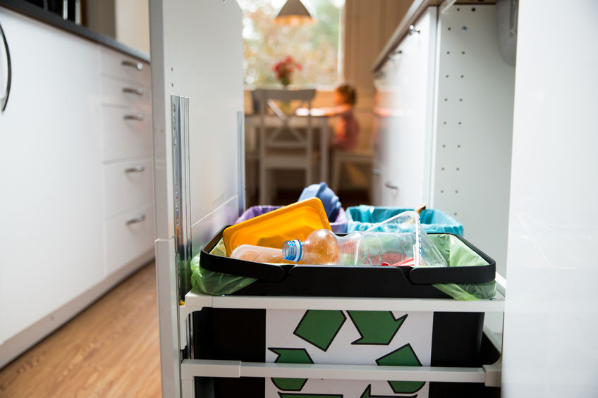 Creating a Kitchen Recycling Center