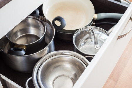 How to organize kitchen cooking.