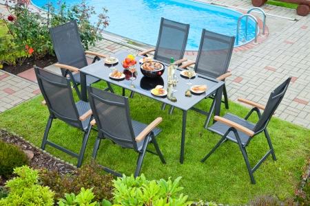 Clean Aluminum Outdoor Furniture Modern Patio Outdoor