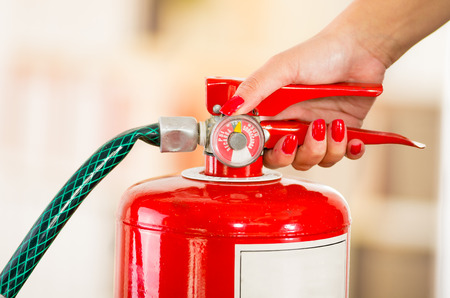 Home safety tips: A fire extinguisher should be kept on each floor of your home.