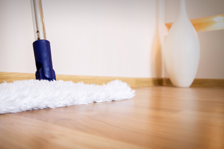 How to clean hardwood floors.