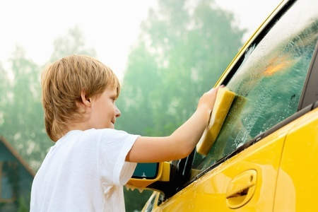 Car chores for kids by age.